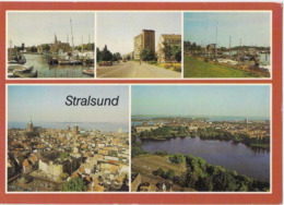 Stralsund - Hafen - Am Heinrich-Heine-Ring - Seglerhafen - Übersicht /P412/ - Stralsund
