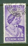 Hong Kong: 1948   Royal Silver Wedding    SG171   10c    Used - Hong Kong (...-1997)