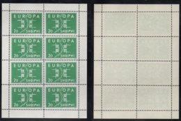 EUROPA CEPT - ALBANIE / 1963 BLOC DE 8 VIGNETTES DE PROPAGANDE ANTI EUROPE ** / RARE (ref 3806) - Europa-CEPT