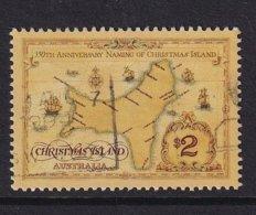 Christmas Island 1993, $2 Tallships, Minr 391, Vfu. Cv 4 Euro - Christmas Island