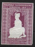 Nederlands Indië Semarang 1914 Colonial Exhibition - Vignettes De Fantaisie
