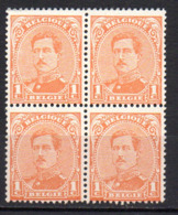 Col17  Belgique Bergie N° 135 Neuf XX MNH - 1915-1920 Albert I