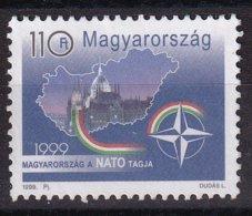 Hungary 1999, NATO, Minr 4528, Vfu - Oblitérés
