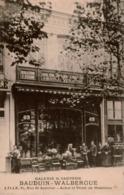 Cpa 59 LILLE Galerie Saint-Sauveur Achat Et Vente De Mobiliers  BAUDUIN-WALBERGUE 63,Rue Saint-Sauveur ,dos Vierge - Lille