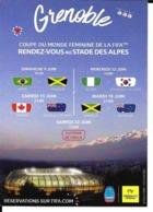 STADE DES ALPES RUGBY FOOTBALL  GRENOBLE COUPE DU MONDE 2019 WORLD CUP  ESTADIO - STADIUM STADIO - Soccer