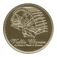 Monnaie De Paris , 2019 , Fontaine De Vaucluse , Vallis Clausa , Le Moulin à Papier De Provence - Monnaie De Paris