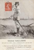 Rare Cpa  Guerre 14-18 Général Gallieni - 1914-18