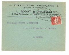 DAGUIN ALGERIE  PHILIPPEVILLE         K97 - Algérie (1924-1962)