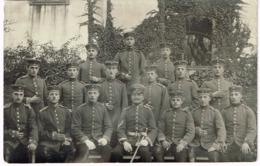 BRUCHSAL 1913 Soldaten - Fotokarte - Bruchsal