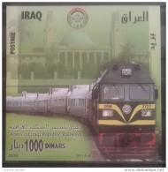 Iraq 2010 MNH S/S - Anniv Of Iraqi Railways - Trains - Irak
