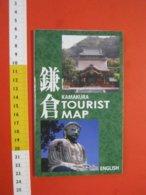 Z.08 JAPAN GIAPPONE DEPLIANT TURISMO 2019 - KAMAKURA MAP - ENGLISH LANGUAGE - Dépliants Turistici