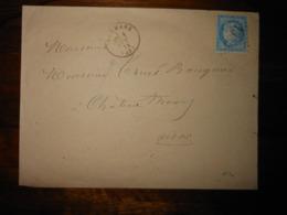 Enveloppe GC 1330 Dormans Marne - 1849-1876: Période Classique