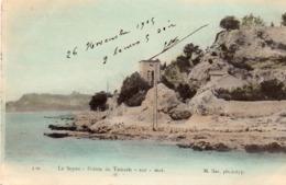 83 LA SEYNE POINTE DE TAMARIS SUR MER COLORISEE CLICHE UNIQUE - La Seyne-sur-Mer