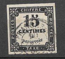 France Tatxe   N° 3B  Oblitéré   B/   TB     Soldé  à Moins De 15  %       Le Moins Cher Du Site  ! !  ! - 1859-1955 Used