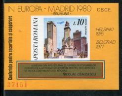 Rumaenien / 1980 / Block 175 ** (0226) - Blocks & Kleinbögen
