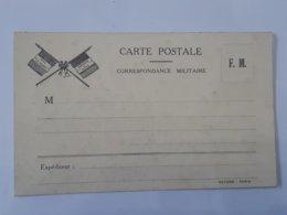 Militaria - Carte Correspondance Militaire F.M. ... Lot33 . - Marcophilie (Lettres)