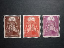 Luxemburg Luxembourg CEPT 1957 Mi 572-574 **, PRACHT!! (KW: 200,00€) - Luxemburg