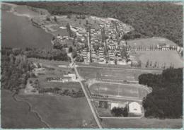 CPM:  MOUSSEY   (DPT.57):       Stade De Foot-ball Et La Cité Bataville Vue Du Ciel.     (photo Véritable)    (E2373) - Soccer