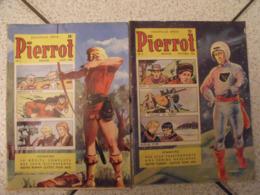 Pierrot. 2 N° De 1956. N° 1 Et 3. Pellos Petipon Jac Remise Marin Flèche D'or. BD à Redécouvrir - Lisette