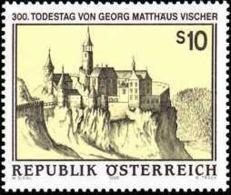 AUSTRIA 1996 - CASTILLO DE KOLLMITZ - YVERT 2014 ** - Castillos