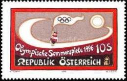 AUSTRIA 1996 - JUEGOS OLIMPICOS DE ATLANTA - YVERT 2021** - Verano 1996: Atlanta