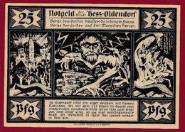 Allemagne 1 Notgeld De 25 Pfenning Stadt Kess/Oldendorf  Dans L 'état N °4834 - Collections