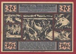 Allemagne 1 Notgeld De 50 Pfenning Stadt Kess/Oldendorf  Dans L 'état N °4835 - [ 3] 1918-1933 : République De Weimar
