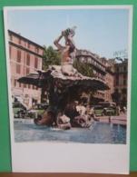 ROMA Fontana Del Tritone Bernini Cartolina Non  Viaggiata Serie Fontane D'Italia - Roma (Rome)