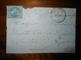 Fragment Lettre GC 1282 Davejean Aude - Marcophilie (Lettres)