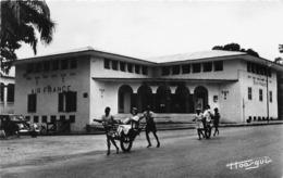 CONGO-BRAZZAVILLE - A.E.F. - Les Bureaux D'Air France (CPSM Petit Format) - Brazzaville