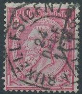 [24589]TB//O/Used-N° 46, TB Obl Centrale Télégraphe 'Bruxelles (Centre)' - 1884-1891 Léopold II