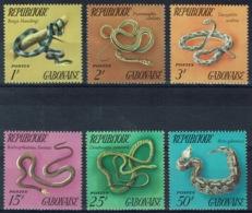 Gabon, Snakes, 1972, MNH VF complete Set Of 6 - Gabon
