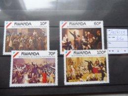 Rwanda 1356/59 Bicentenaire De La Revolution Française Neuf ** - French Revolution