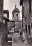 01 Pérouges, La Rue Du Prince Et L'Eglise - Pérouges