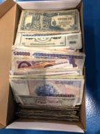 Lot De Plus De 1500 Billets Monde Dans L'état - Billets