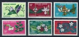 Gabon, Flowers, 1972, MNH VF complete Set Of 6 - Gabon