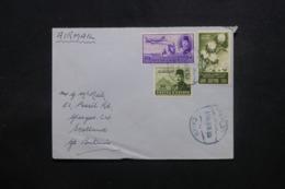 EGYPTE - Enveloppe Du Caire Pour Glasgow En 1948 , Affranchissement Plaisant - L 43781 - Lettres & Documents
