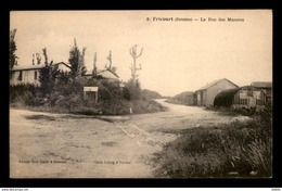 80 - FRICOURT - RUE DES MASURES - France