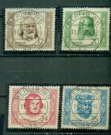 DDR, Berühmte Menschen, Nr. 311 - 315 Vollstempel - Gebraucht