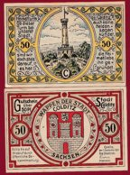 Allemagne 1 Notgeld De 50 Pfenning  Stadt Colditz  Dans L 'état N °4855 - [ 3] 1918-1933 : Repubblica  Di Weimar