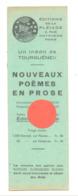 Marque-pages Publicitaire - Editions De La PLEIADE à Paris    (b260/4) - Marque-Pages
