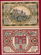 Allemagne 1 Notgeld De 50 Pfenning  Stadt Colditz  Dans L 'état N °4857 - [ 3] 1918-1933 : Repubblica  Di Weimar