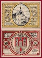 Allemagne 1 Notgeld De 50 Pfenning  Stadt Colditz  Dans L 'état N °4858 - [ 3] 1918-1933 : Repubblica  Di Weimar
