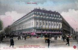 """75 - PARIS -  Le Grand Hôtel - Station Métropolitain """"Opéra """"  - Couleur - - Frankrijk"""