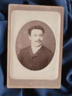 Photo Format Cabinet  Leroux à Toulon  Portrait Homme  CA 1880 - L467 - Photos