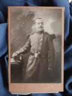 Photo Format Cabinet  Sollelliand  Militaire  122e D'Infanterie - L467 - Oorlog, Militair