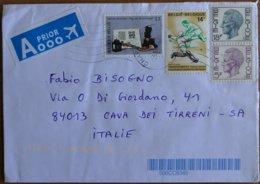 1977 Belgie - 1^ Coupe Internationale - Stamp On Cover - Rasenhockey