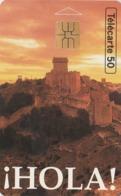 FRANCIA. Hola! Chateau. HOLA, CASTILLO, ESPAÑA. 50U. 0457. 04/94. (313). - Frankrijk