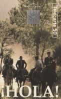 FRANCIA. Hola! Cavaliers. HOLA, CABALLOS, ESPAÑA. 50U. 0458. 04/94. (314). - Frankrijk
