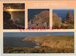 22 - CAP FREHEL- LES FALAISES  LES PHARES ET LE ROCHER DE LA FAUCONNIERE - Cap Frehel